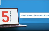 5 Reasons Why Your Content Isn't Ranking